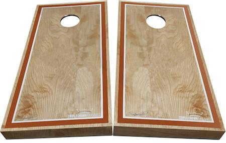 Weatherproof Texas Orange Cornhole Boards