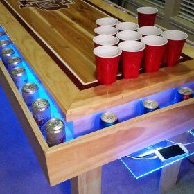 Aggie Table With LED Lights