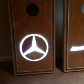 Mercedes Cornhole Boards