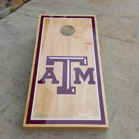 T A&M Aggies Cornhole Boards