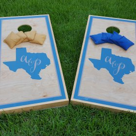 Texas Wedding Cornhole Boards