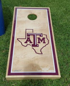 Texas A&M Cornhole Board