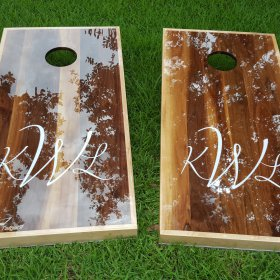 Cornhole Boards That Shine Like Glass