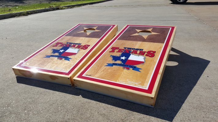 BBQ Cornhole Boards