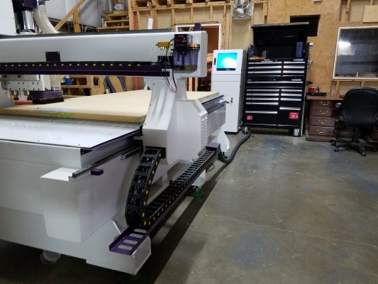 Triple Crown Tailgate CNC Machine