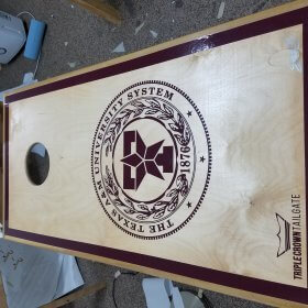 The Texas A&M University System Cornhole Board