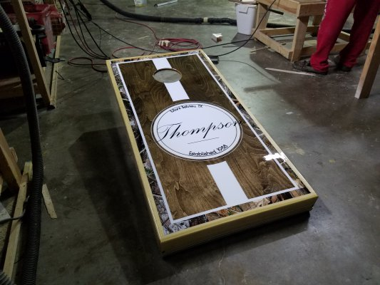 Thompson Cornhole Board