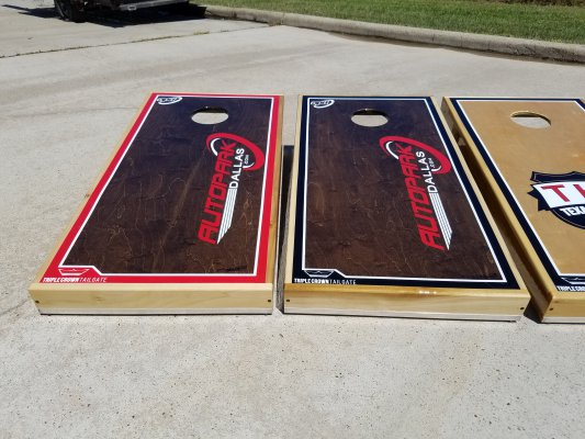 Autopark Cornhole Boards