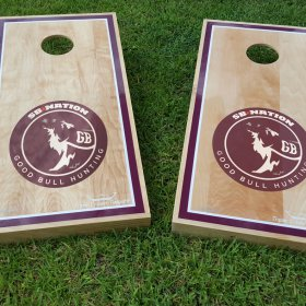 SB Nation Good Bull Hunting Cornhole Set