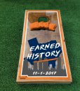 Astros Earned History Cornhole Boards