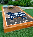Astros Cornhole Boards Earned History 11/1/2017