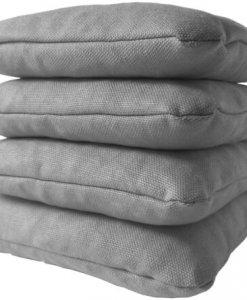 Gray Cornhole Bags